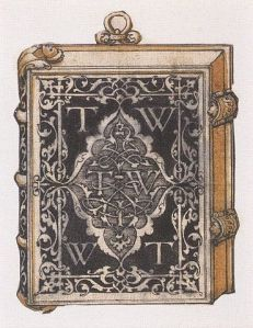 370px-Design_for_a_metalwork_book_cover,_by_Hans_Holbein_the_Younger